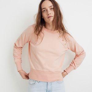 Madewell shoulder button sweatshirt